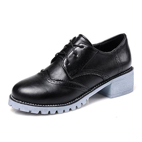 Tallado vintage zapatos de corte bajo de Inglaterra/zapatos de encaje profundo/los estudiantes universitarios viento zapatos A