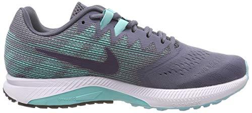 aurora Grigio Light Nike Scarpe Raisin Running Span Dark Donna Damen Carbon 2 Zoom c6WHqaT76