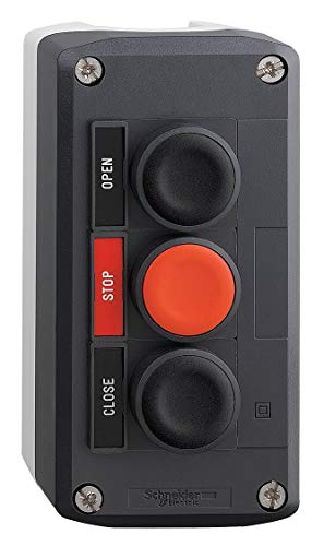 Schneider Electric Push Button Control Station, 2NO/1NC Contact Form, Number of Operators: 3 - ()