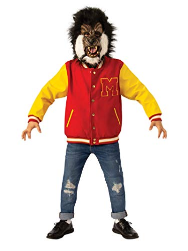 Michael Jackson Child's Thriller Werewolf Jacket & Mask Set Costume, ()