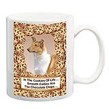 Smooth Collie Chocolate Chip Coffee Tea Mug 15 oz