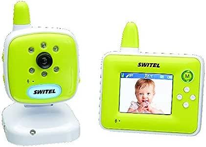 Switel BCF 817, Dijital kameralı bebek telsizi, Yeşil