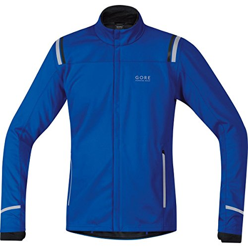 Gore Bike Wear 2014/15 Men's Mythos 2.0 Windstopper Soft Shell Running Jacket - JWSMYM (Brilliant Blue - S) by Gore Bike Wear