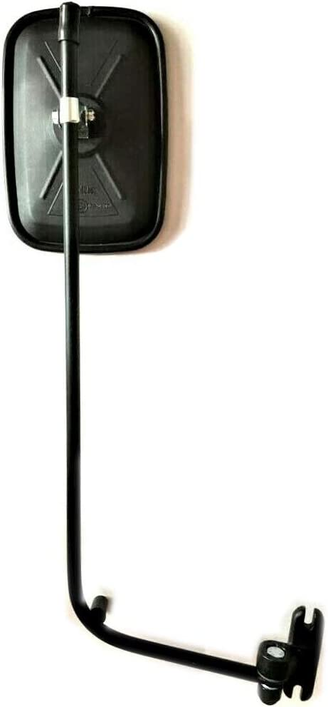 2x Exterior Rear-View Mirrors /ø10 Tractor Excavator 175 x 125 mm Long Arm