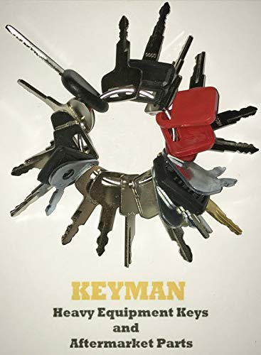 (Keyman 21 Keys Heavy Equipment Key Set/Construction Ignition Keys Set)