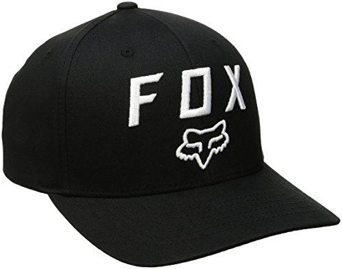 Adjustable Hat Fox - Fox Men's 110 Curved Bill Snapback Hat, Black4, One Size