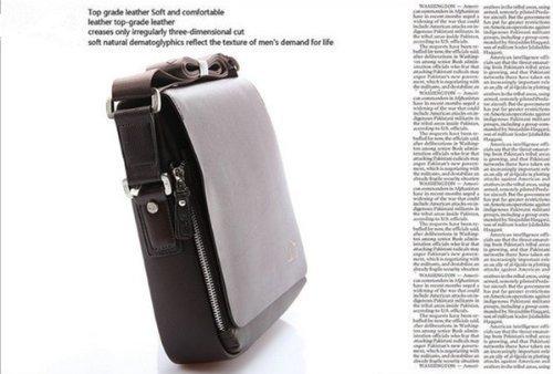 EconoLed Genuine Leather PU Authentic Kangaroo Kingdom Shoulder Bag