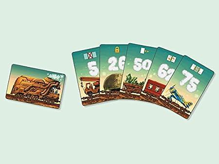 dV Giochi dvg9326 – Juegos de Mesa Game of Trains, edición Italiana: Amazon.es: Juguetes y juegos