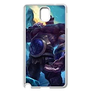 Braum Samsung Galaxy Note 3 Case White Cell Phone Case Cover NKZHIQQ5647