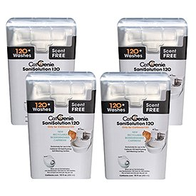 (CatGenie 120 SaniSolution Smart Cartridge, Scent Free (4-Pack))