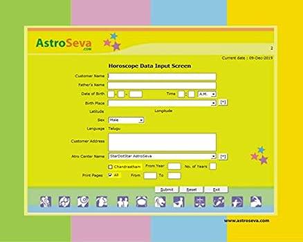 Software pro astrologii telugů