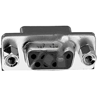 Amphenol Commercial L77SDE09SA4CH4F, connector, d-sub, rt