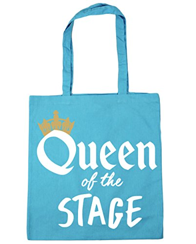 HippoWarehouse Shopping Gym 42cm of 10 Tote Surf Blue Beach x38cm Bag the Stage litres Queen rXw4axYqr