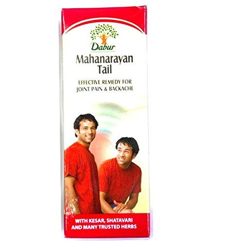 Dabur Mahanarayan Tail Oil, 3.5 Fluid Ounce (Pack of 6)