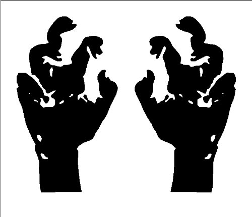 Zombie Hands Halloween Wall Decal Vinyl Sticker Removable Graphic 13