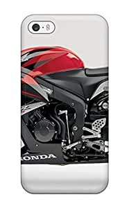 New Style Tpu 5/5s Protective Case Cover/ Iphone Case - Honda Cbr 600rr Red