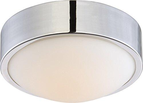 Nuvo Lighting 62/771 LED Flush Mount, 9 inch, Polished Nicke
