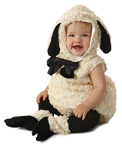 Lamb Halloween Costume (Princess Paradise Baby Vintage Lamb Deluxe Costume, As As Shown, 6 to 12)
