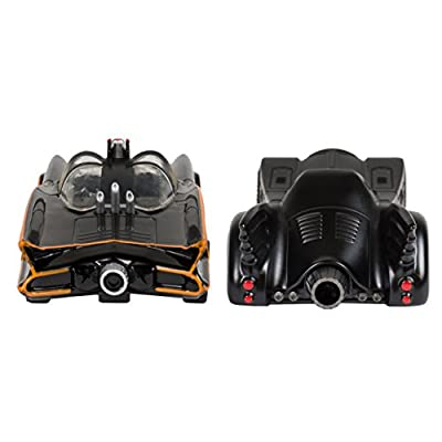 2 Pc Set - 1966 and 1989 Batmobiles Free Wheeling Die Cast 1:32 Scale Toys: Toys & Games