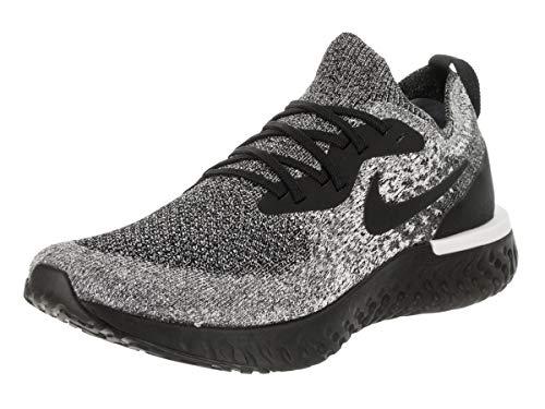 - Nike Men's Epic React Flyknit Running Shoe 10 Black