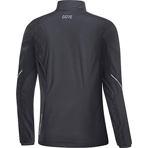 Gore Women's R3 Wmn Partial Gws Jacket,  terra grey/black,  XS by GORE WEAR (Image #3)