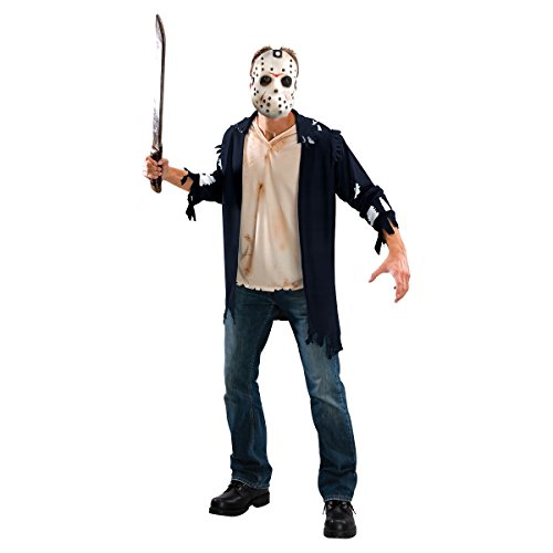 Rubie's Men's Friday The 13th: Jason Costume, AS SHOWN, -