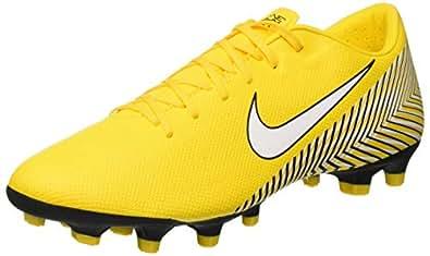 Nike Vapor 12 Academy NJR FG/MG, Zapatillas de Fútbol para Hombre, (Amarillo/White/Black 710), 40 EU
