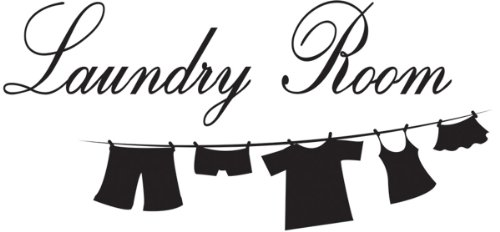 wall decals laundry room - 9