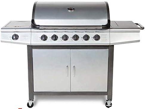 CosmoGrill - Barbecue à Gaz 6+1 Pro