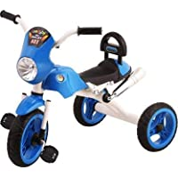 BaBY TRICYCLE FOR KIDS WITH BLUE COLOUR KIDS TRICYCLE RECOMMENDED TRICYCLE FOR BABY GIRL OR TRICYCLE FOR BABY BOY OR TRICYCLE FOR TODDLER GIRL OR TRICYCLE FOR TODDLER BOY RECOMMENDED FOR TODDLER 1,2,3,4,5 YEAR