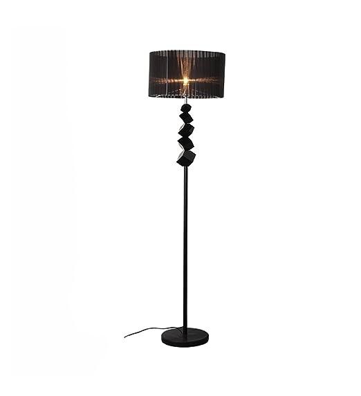 Lámpara de pie lámpara Vertical Cama de Cristal Lámpara de ...
