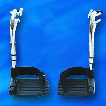 Footrests for Tracer and 9000 Wheelchairs (Aluminum Foot Plates)