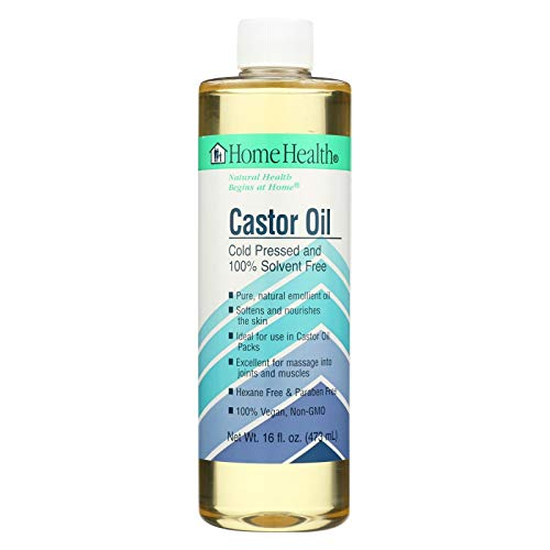 Castor Oil Home Health 16 oz Liquid (Best Uses For Castor Oil)