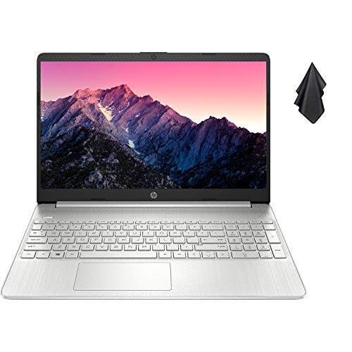 2021 Newest HP Pavilion Laptop, 15.6″ HD Display, AMD Athlon Gold 3150U Processor Up to 3.3GHz, Webcam, HDMI, Compact Design, Long Battery Life, Win 10 + Oydisen Cloth (16GB RAM | 512GB SSD)