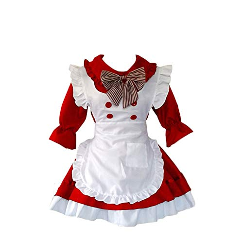 SUNNY Store Cute Lolita Anime Cosplay French Maid Costumes]()