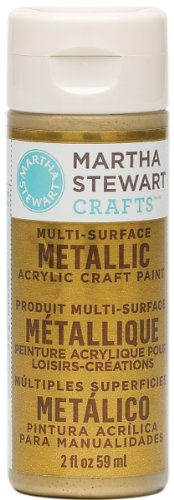 Martha Stewart Crafts Multi-Surface Metallic Acrylic Craft P