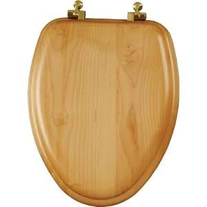 Mayfair 19601br 378 Natural Reflections Wood Veneer Toilet