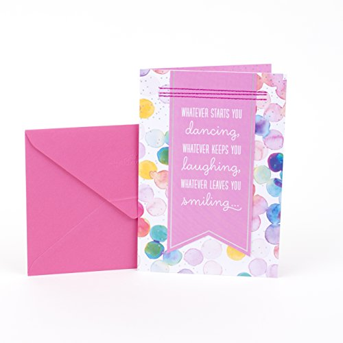 Hallmark Birthday Greeting Card for Her (Dancing Laughing Smiling)