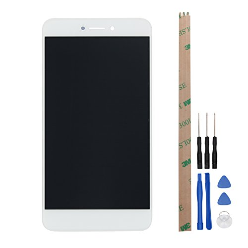 Huawei Honor 8 Lite LCD Display HYYT LCD Display and Touch Screen Digitizer Glass Replacement Full Assembly for Huawei Honor 8 Lite (white)