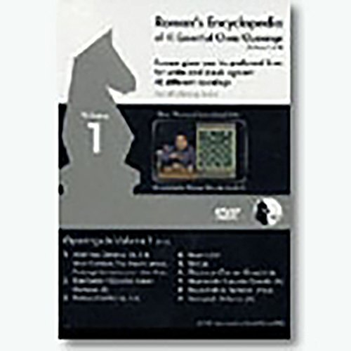 Roman's Lab Chess DVD - Volume 37 - Encyclopedia of Chess Openings - Part 1 of 4 by