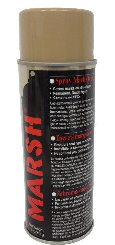 MARSH Mark Over Paint, 11 oz Spray Can, - Tan Paint Spray