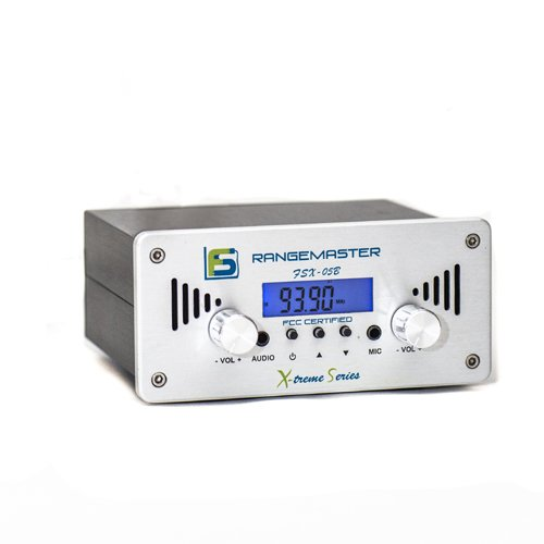 Fail-Safe Long Range FM Transmitter--X-Treme Series FSX-05B--FCC CERTIFIED by F-S Electronics