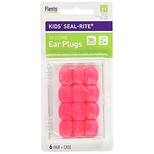 (Flents Kid's Silicone Ear Plugs C265 6 Pairs (Color May Vary))