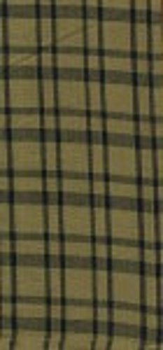 Factory Direct Craft Group of 3 Natural & Black Plaid Printed Kitchen Tea Towels for Decorating and Crafting