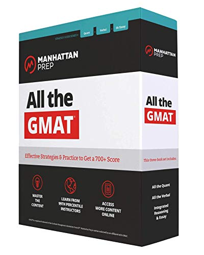 All the GMAT: Content Review + 6 Online Practice Tests + Effective Strategies to Get a 700+ Score (Manhattan Prep GMAT Strategy Guides) (Manhattan Store)