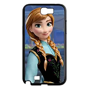 Samsung Galaxy N2 7100 Cell Phone Case Covers Black Frozen Character Anna Phone Case Cover Clear Hard CZOIEQWMXN4615