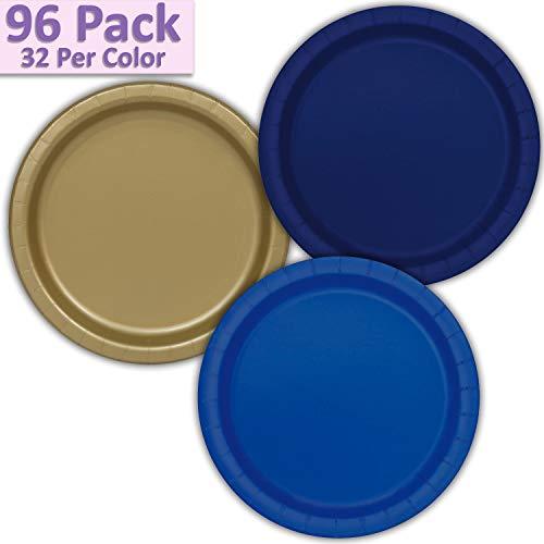 96 Paper Dinner Plates (9
