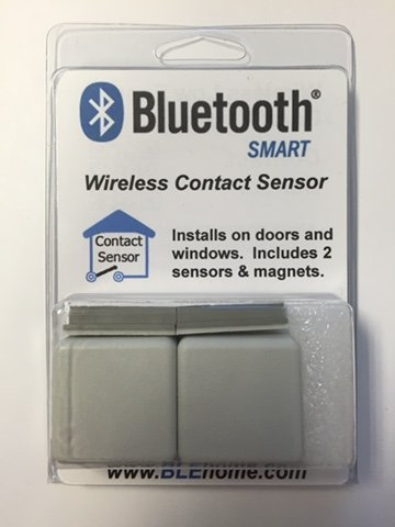 Bluetooth 4.0 Smart Wireless Contact Sensor (Qty. 2) by BLE Home