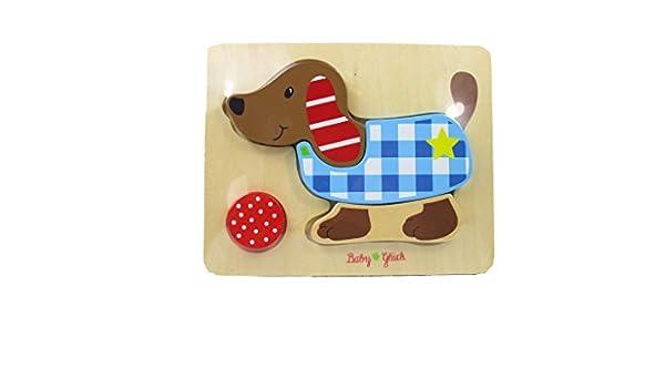 Spiegelburg 12352 Puzzle de perro para bebés (4 piezas ...