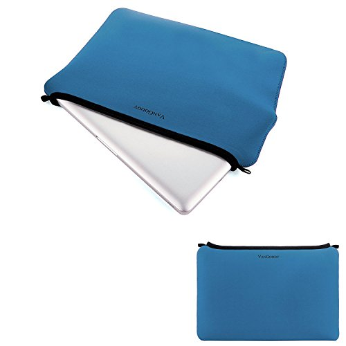 Universal Laptop Bag Tablet Pouch Carrying Case 11.5 to 12.5 Inch for Acer Aspire, Apple MacBook, Asus E VivoBook, EeeBook, Chromebook, Dell Inspiron 11 3000, Latitude 11, Blue